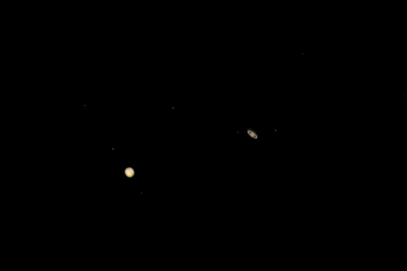 Jupiter and Saturn