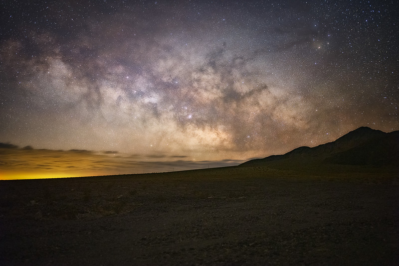 Milky Way Over Death Valley 35 mm