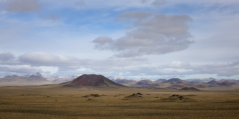 Remains of Volcanoes in Nevada