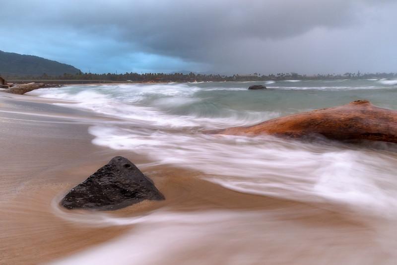 Storming coming into Kauai