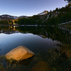 Silver Lake Before Moon Rise