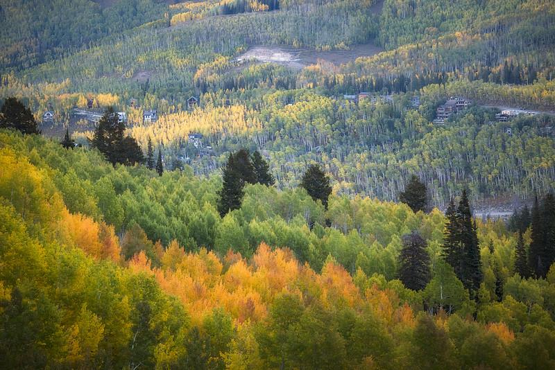 Twin Lake Trail in Fall