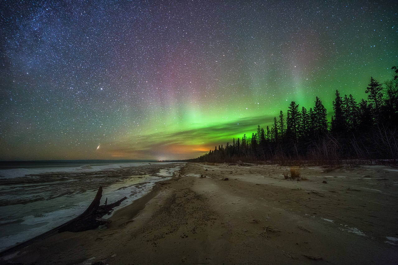 Aurora at Lesser Slave Lake
