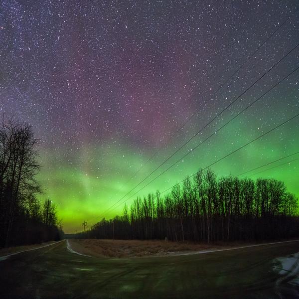 The Green Night Sky