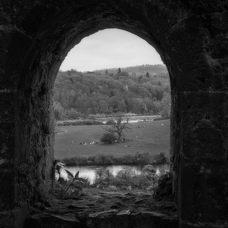 Looking Across River Wye from Chepstow Castle