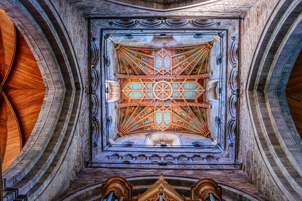 St Davids Cathedral Ceiling
