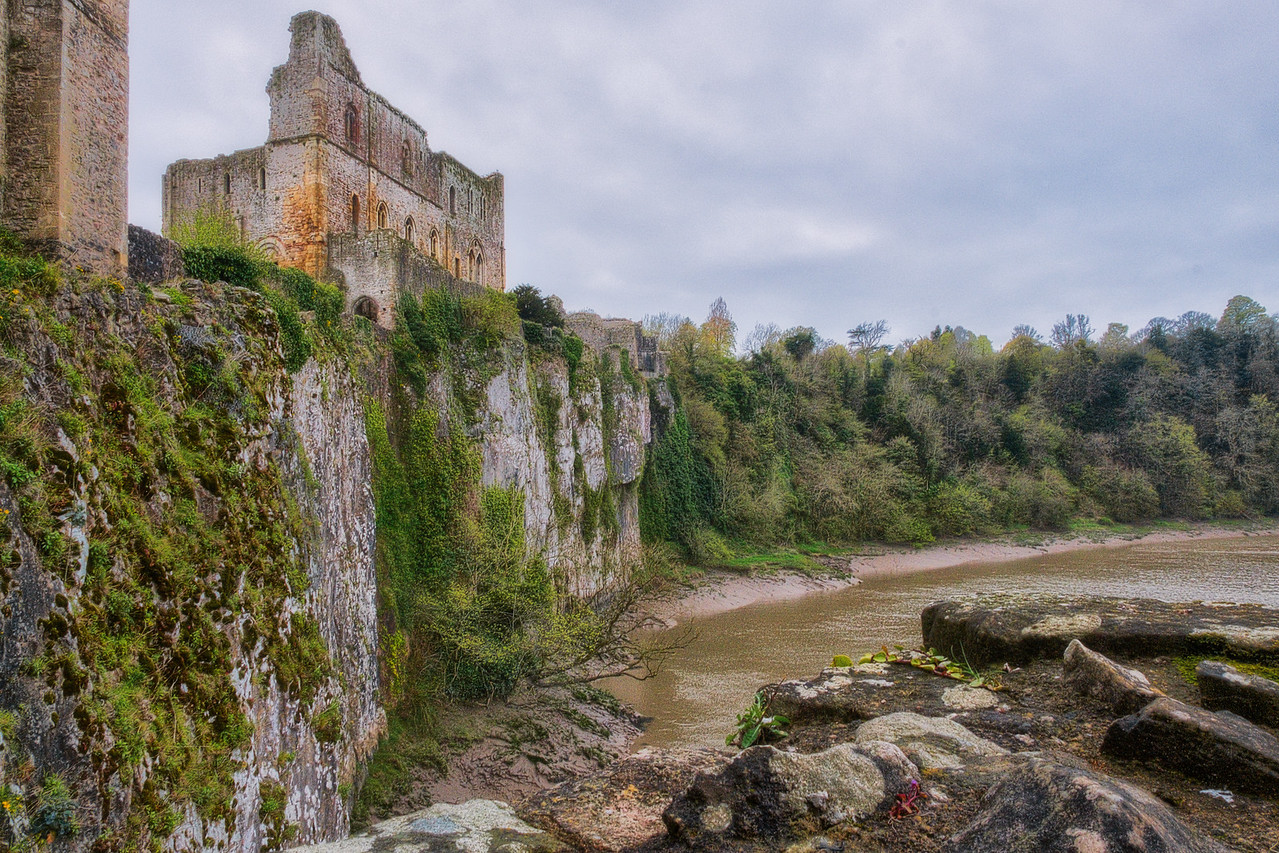 Cliffs Near Chepstow Castle