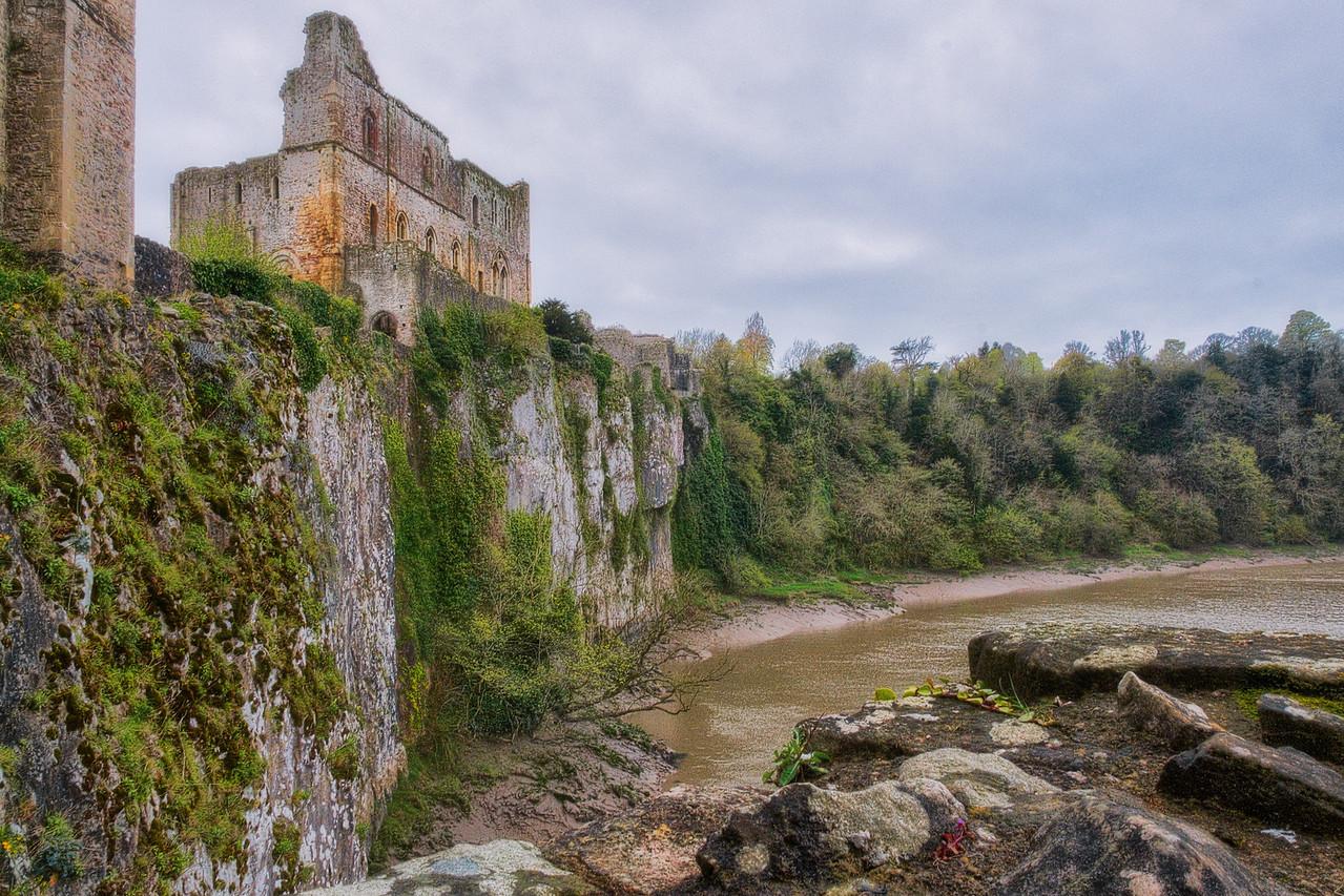 Cliffs Near Chepstow Castle