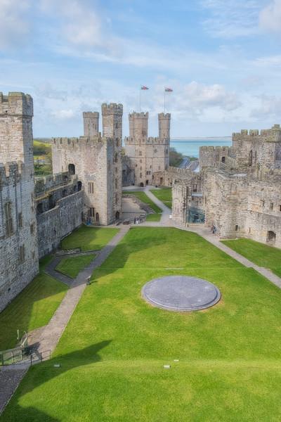 Caernarfon Castle Grounds