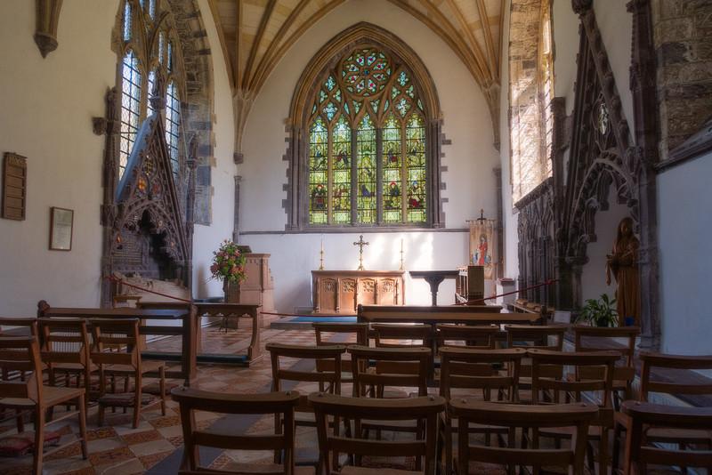 Chapel of St Thomas Becket at St Davids Cathedral