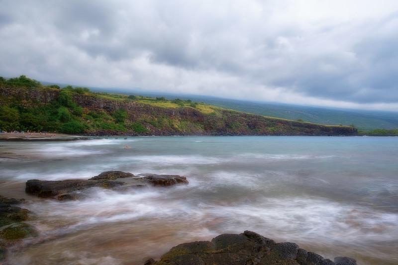 Rainy Day at Ho'Okaban Beach