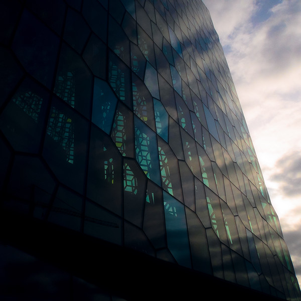 Harpa up Close