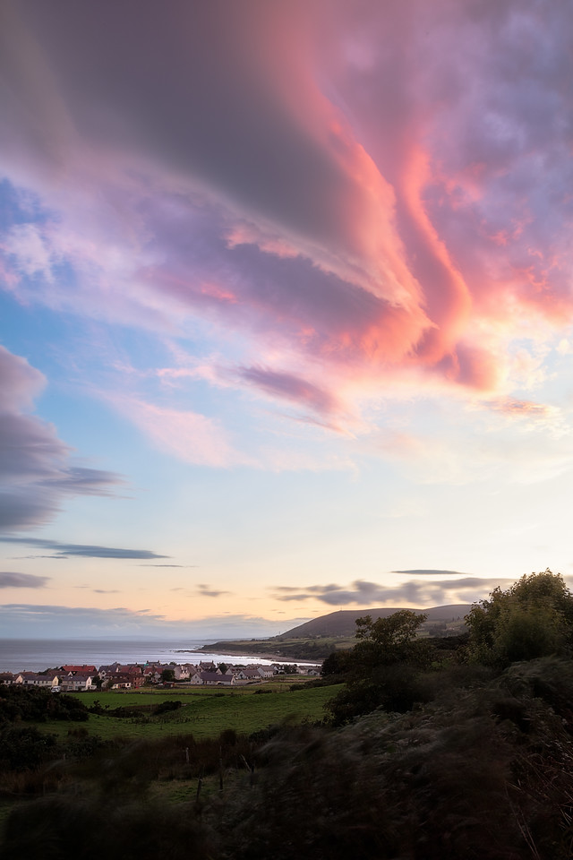 Helmsdale Sunset