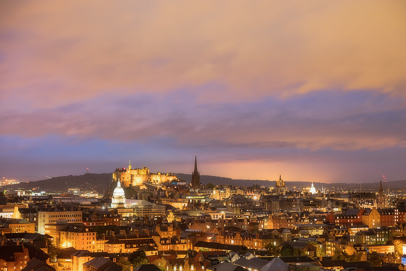 Night in Edinburgh