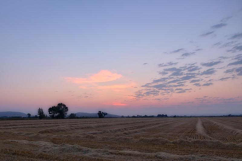 Sunrise in Menan