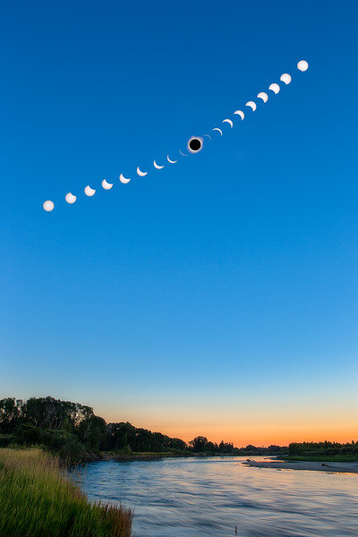 2017 Eclipse over Snake River