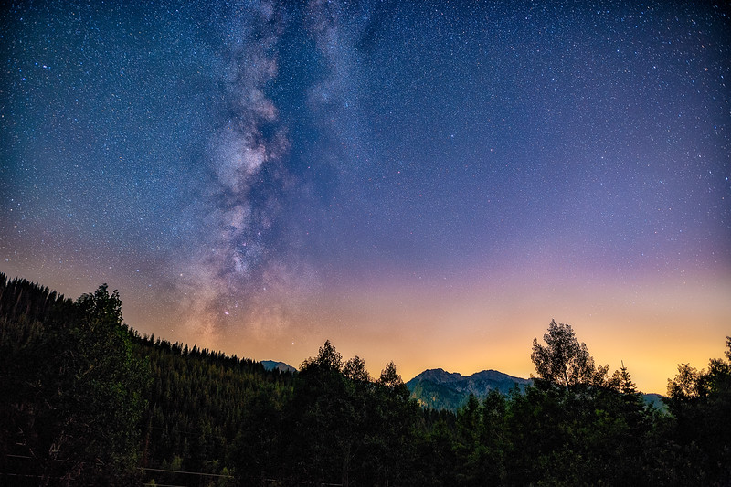 Milky Way from Guardsmans Pass