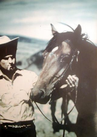 Papa, the Marlboro cow-boy!