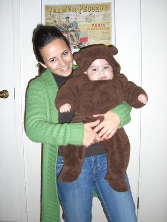 October 31st: the little Halloween bear
