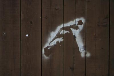 3623 Stencil Graffiti