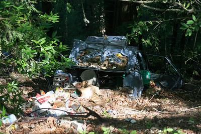 3607 Car & Trash Dumped