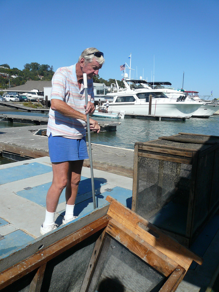 Our special bait guy. Named man of California for his efforts saving birds