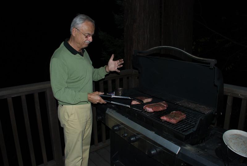 Opa likes steak