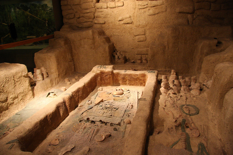 Reproduction Moche Burial