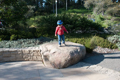 Biking and climbing - a real explorer