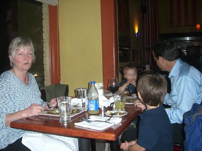 Oma's birthday dinner