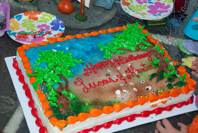 Lucas' & Hunter's B-Day cake
