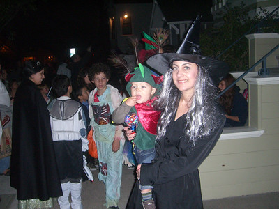 The witch and her little dragon