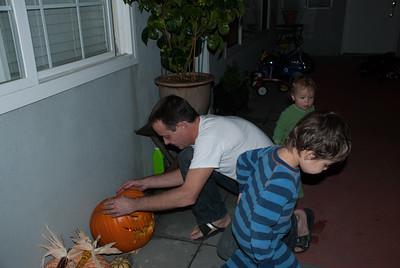 Papa's first Pumpkin-Art