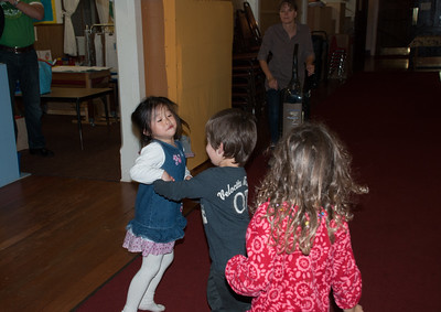 Lucas dancing with Lexy