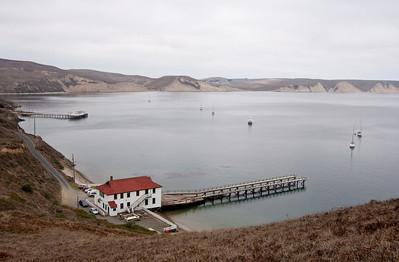 Coast Guard Boathouse on Drake's Bay