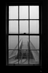 Window at Coast Guard Boathouse