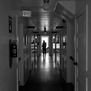 9488 Inside Dorm bw