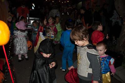 On the kids dance floor