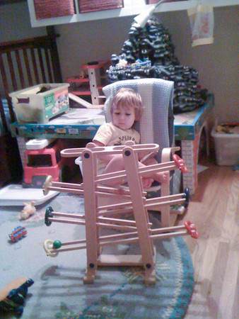 "Naughty Chair with ""Murmelbahn"""