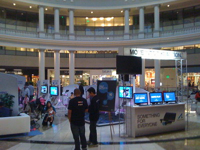 For MIcha: PS3 Move Promotion at SF Mall