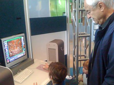 Opa's computer class