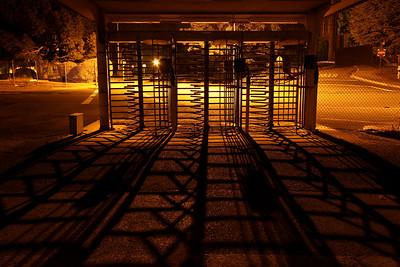Pedestrian Gate Shadows