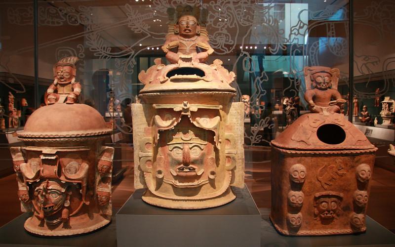 Mayan Burial Jars