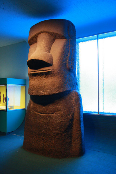 Moai reproduction, American Museum of Natural History