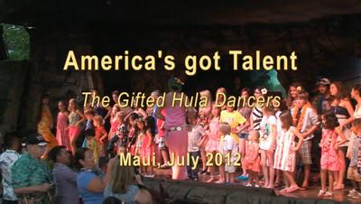 The amazing Hula dancers