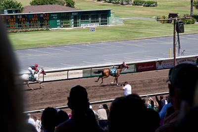 Riderless Horse Finish