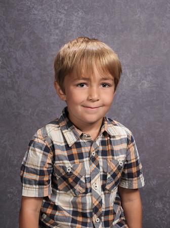Yearbook portrait