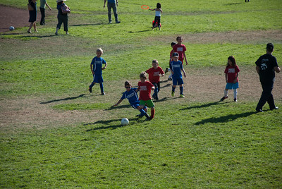 Slide tackle!