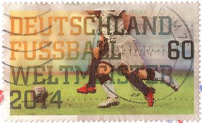 WM 2014 Stamp