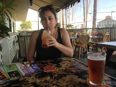 After a long flight... welcome to Kauai!